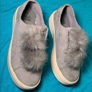 "d9f3ee3e15986d Faded Glory shoes with ""Pom Pom""s"